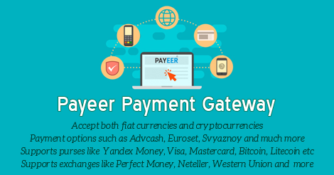 Payeer Payment Gateway for XYZ Admarket released